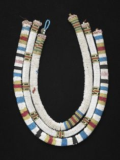 Necklace, Zulu. Ca 1915