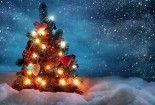 Christmas Tree 3D Wallpaper HD