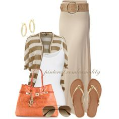 """Isabel London & Banana Republic Summer Wear"" by casuality on Polyvore"