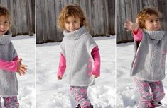 Tutorial: Make a little girl's sweater from an adult sweater