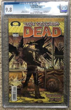 #certified #graded #cgc #cpgx #art #DC #Marvel #comic The Walking Dead #1 CGC 9.8!!!! (Oct 2003, Image)