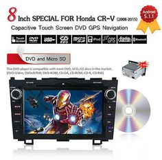 Quad Core Android 5.1 Car Multimedia Player DVD For Honda CRV 2008-2011 GPS Navi