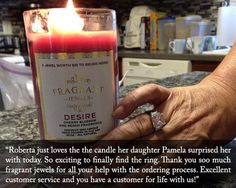 Desire - Jewel Candle