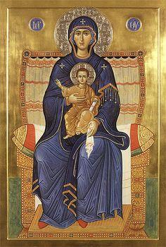 Vergine in Trono
