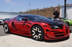 How A Bugatti Veyron L'Or Style Vitesse Gets Delivered To Its New ...