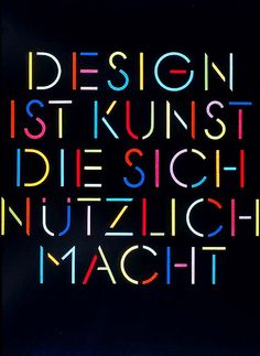 Typographic design by Pierre Mendell