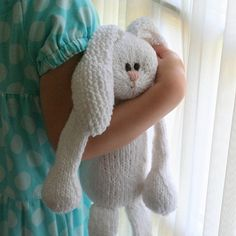 7 Easter Bunny Patterns {DIY Gifts} - EverythingEtsy.com