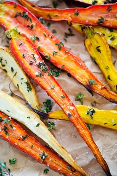 THYME ROASTED HEIRLOOMCARROTS - a house in the hills - interiors, style, food, and dogs