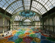 Daniel Buren: Master Artist Of Open Spaces Takes On The Grand Palais