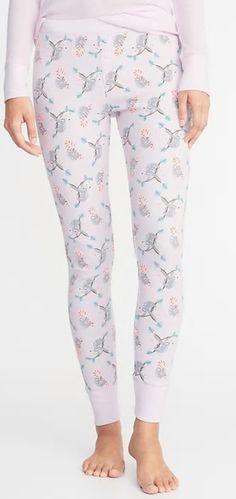 Disney Mickey Mouse in Glasses Smiles White Capri Knit Sleep Pants Small