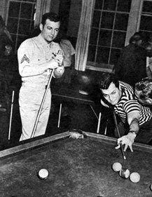 Curtis/Darren playing Pool