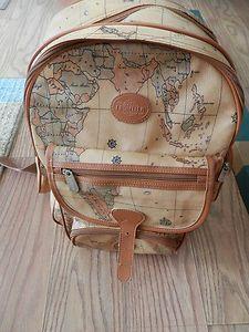 Beautiful Designer Inspired Large World Map Backpack Camera Case