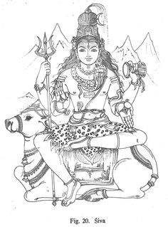 Lord Shiva Coloring Pages – Play coloring with us Kerala Mural Painting, Tanjore Painting, Indian Art Paintings, Black Canvas Paintings, Shiva Art, Hindu Art, Outline Drawings, Art Drawings Sketches, Tribal Drawings