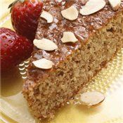 Flourless Honey-Almond Cake Recipe at Cooking.com - grain free, gluten free and low sugar