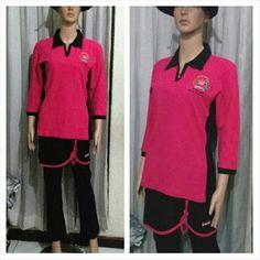 https://flic.kr/p/AMiPzs | Baju pink, rok pendek dan celana hitam