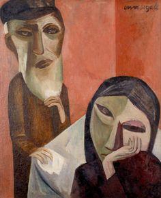 Lasar Segall Meus avós, 1920 óleo sobre tela 90 x 73,5 cm Museu Lasar Segall