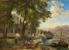 Burgundy Baron's Blog: Carl Hummel painting