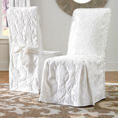 Greenhouse Fabrics #upholstery #interiordesign Matelasse Dining Room Chair Cover
