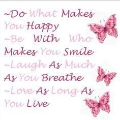 Happy love liefde smile laugh quote positief