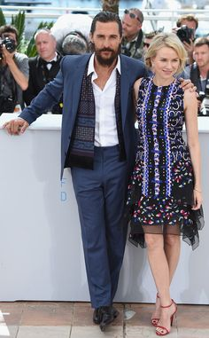 Matthew McConaughey & Naomi Watts from Stars at the 2015 Cannes Film Festival | E! Online