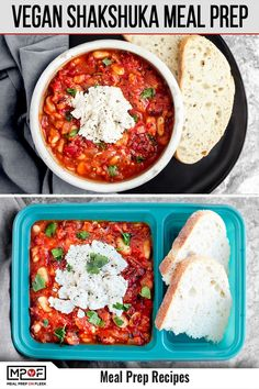 This vegan meal prep idea take on the classic Middle Eastern dish is so simple to make and full of warming spices, satiating plant-based protein— YUM! Vegetarian Meal Prep, Lunch Meal Prep, Easy Meal Prep, Healthy Meal Prep, Dinner Meal, Healthy Foods, Vegan Breakfast Recipes, Lunch Recipes, Healthy Dinner Recipes