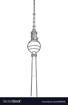 Pin on Berlin fernsehturm