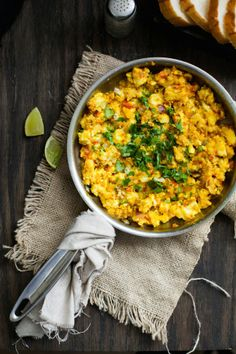 Sinfully Spicy - Paneer Bhurji, Scrambled Spicy Indian Cheese 03