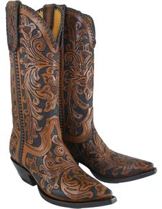 Heritage hand tooled boots from Austin TX. $695 and Holy hell I might actually pay that. Love them!