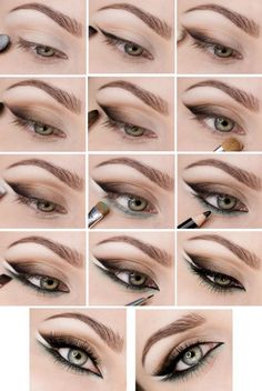 макияж пошагово, красивый макияж, для зеленых глаз, мастер класс макияжа глаз, make up
