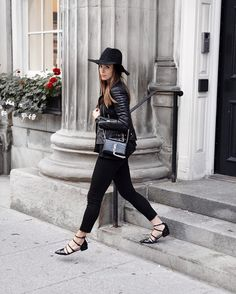 Leather weather with @jodiblk_. #InMyJBRAND