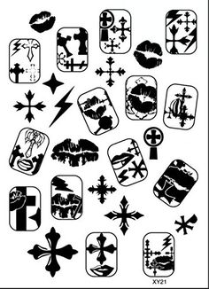 G-Beauty : Nail Art Polish Stamp Manicure XY21 Image DIY Print Design Template Metal Plates Set >>> Details can be found by clicking on the image.