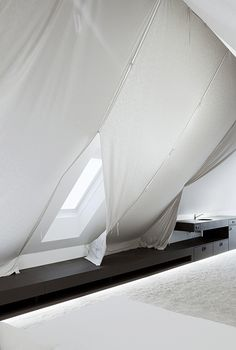 "interiordesign by bernd steinhuber / ""the tent"" / photo: paul ott Interior Architecture, Interior Design, 3, Tent, Live, Projects, Inspiration, Nest Design, Cabin Tent"