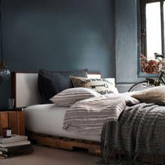 decoration-chambre-lit-chevet-