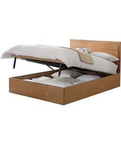 Henley White Leather Ottoman Storage Bed Ottoman Beds