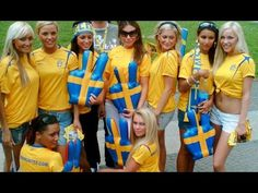 Another group of beautiful swedish girls. I'm a big fan of ...
