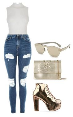 """""""Sand  --- MS"""" by ale-pink5 ❤ liked on Polyvore featuring Topshop, Jeffrey Campbell, Fendi, Casadei and RetroSuperFuture"""