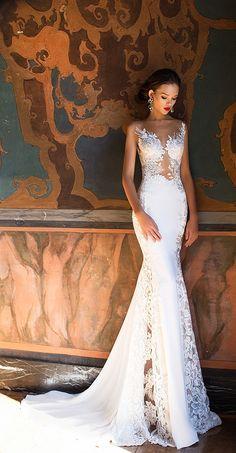 Milla Nova Bridal 2017 Wedding Dresses lorena / http://www.deerpearlflowers.com/milla-nova-2017-wedding-dresses/17/