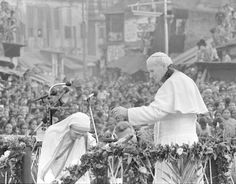 Mutter Theresa, Papst Johannes Paul II.