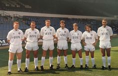 Sgt Wilko's 'magnificent seven' preseason signings, 1989; Chris O'Donnell, Mel Sterland, John McLelland, Jim Beglin, John Hendrie, Mickey Thomas, Vinnie Jones