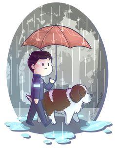 rainy_walk__detroit__become_human_by_nigthmarewolf