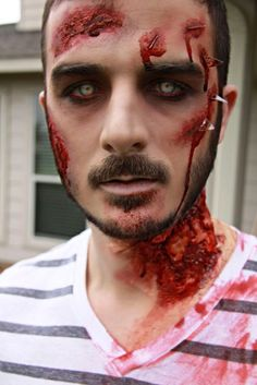 Male Zombie Makeup