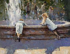 Alexi Zaitsev, 1959 ~ Impressionist painter   Tutt'Art@   Pittura * Scultura * Poesia * Musica    building it with colour