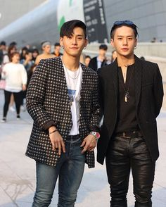 Kwon twins aka YG Dancers - Kwon Young Don & Kwon Young Deuk   Stealing my heart since 2009