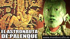 Fue el astronauta de Palenque un extraterrestre que usó maquinaria compleja?