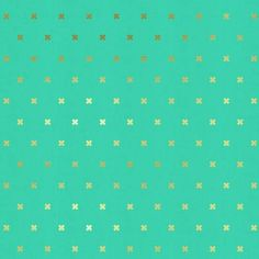 XOXO: Toy Boat and Gold - Basics - Cotton & Steel - Quilting Cotton - Fabric - UK