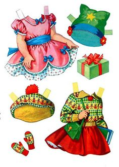 Anne A Paper Doll - Debbie