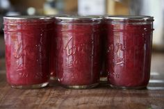Rhubarb jam and other rhubarb recipes to use up the bumper crop!