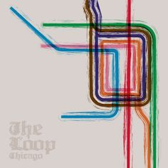 Chicago Loop poster. @Kelsey Cleland I think Ned should get this on his back lol.