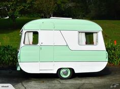 Cute Retro Caravan 10ft | Trade Me