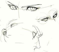 Digital Painting Tutorials, Digital Art Tutorial, Art Tutorials, Anime Drawings Sketches, Anime Sketch, Hipster Drawings, Pencil Drawings, Anatomy Drawing, Anatomy Art